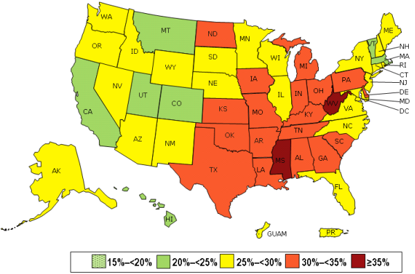 Is Opower The Model For Getting Us To Wellness And Health - Us map with state labels